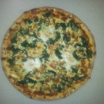 36. Pizza Spinaci